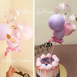 Cake Topper Feliz Cumpleaños