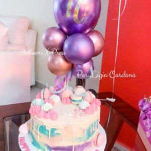 Cake Topper Happy Birthday Cami