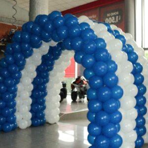 Corporativo Arco Blanco y Azul