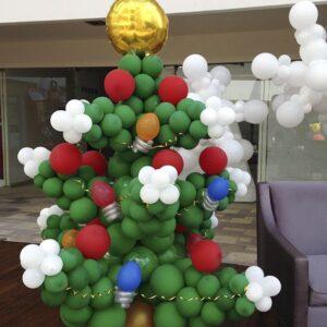 Navidad Arbol con Luces