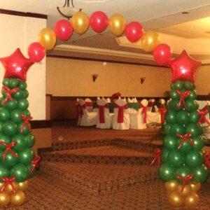 Navidad Arbol y Arco