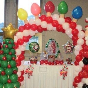Navidad Arbol y Santa