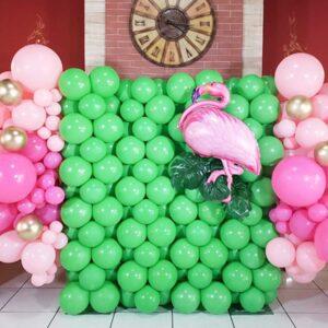 Pared de Globos Flamingo