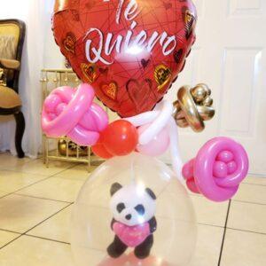 Valentines Crystal Balloon
